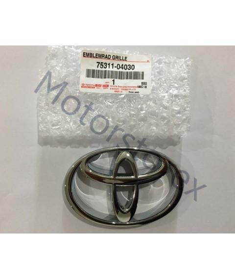 Genuine Toyota Radiator Grille Emblem Logo Front Toyota LN145 LN150 LN152 Pickup 75311-04030