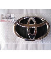 Genuine Toyota Radiator Grille Emblem Logo Front 06-14 Toyota Yaris ZSP90 NCP91 75311-52260