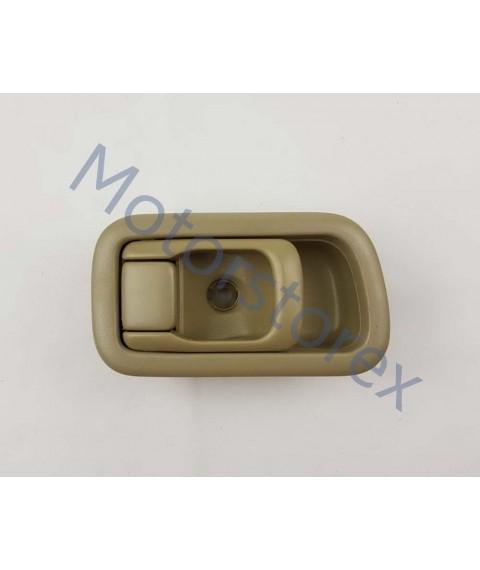 Door Handle Inner Interior Front Door Left for 98 Nissan Big-M D22 Pickup A124CRL