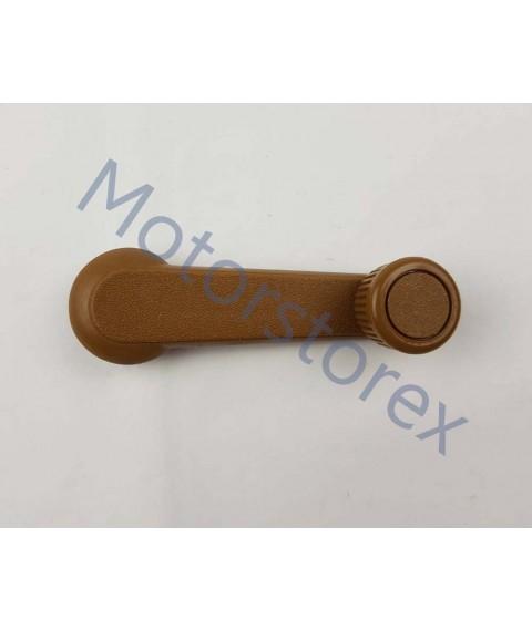 Pair Window Crank Handle Interior Brown for Mazda Bravo B2000 B2200 B2500 Pickup Truck B092-58-580T09
