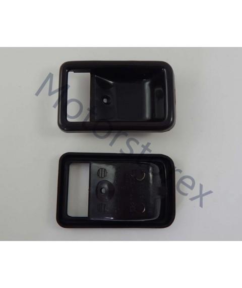 Door Handle Bezel Inner Interior Front Door Left - Right for 79-83 TOYOTA SPRINTER KE70 AE70 TE70 TE72 69277-12020-06