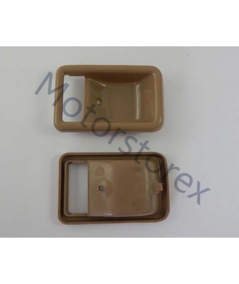 Door Handle Bezel Inner Interior Front Door Left - Right for 79-83 TOYOTA SPRINTER KE70 AE70 TE70 TE72 A6CR