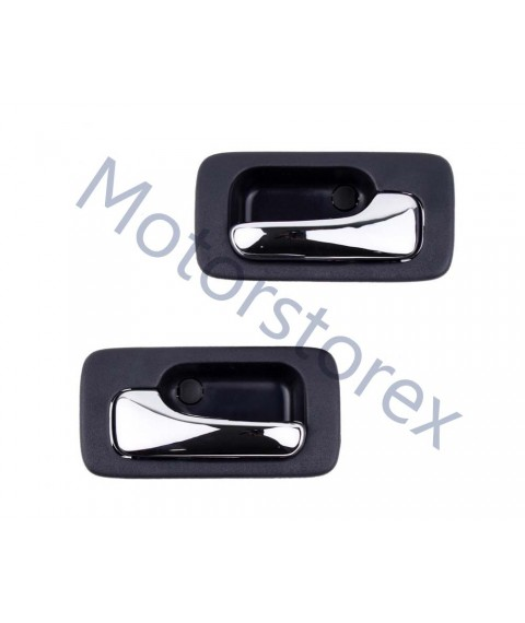Pair Door Handle Interior Inner LH RH for 90-93 Honda Accord CB3 CB7