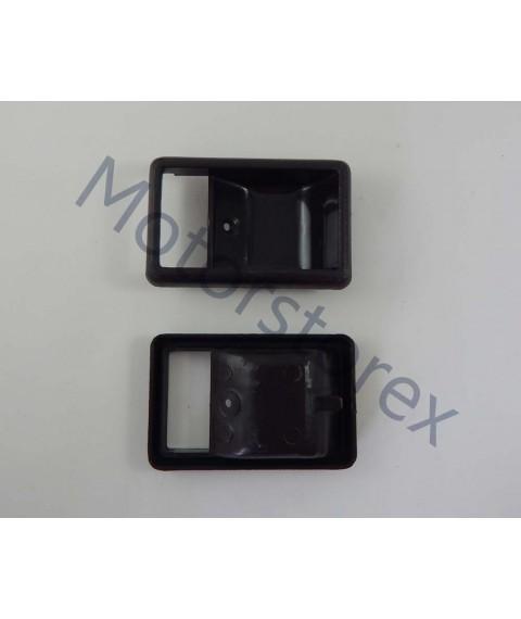 Door Handle Bezel Inner Interior Front Door Left - Right for 83-89 Toyota Hilux 4Runner LN50 LN56 LN60 Pickup A7GR