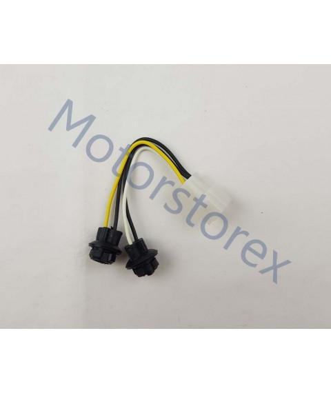 Front Turn Signal Wiring Harnesses 1 set of without bulbs Front for 95-96 Isuzu TFR Pickup Truck