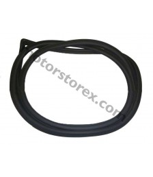 Weatherstrip Door Rubber Seal for 1983-1987 Toyota Corolla AE80 CE80 Ae82 EE82 AE81 series Rear Left LH 67872-12170