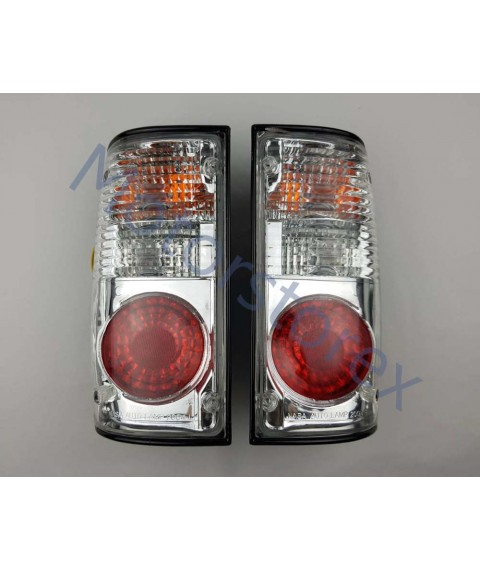 Combination Tail Light Rear Taillight Back Light Rear Left - Right for 89-97 Toyota Mighty X LN85 Pickup